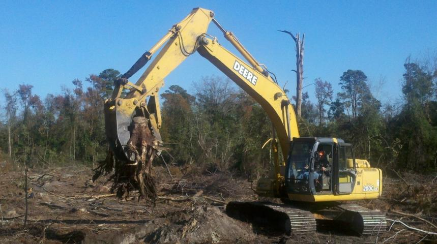 Details about tree stumper and rake for 40000 - 50000 lb excavat, USA  Attachments